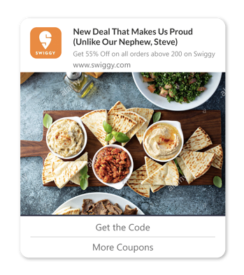 coupon affiliates coupon alerts web push notifications