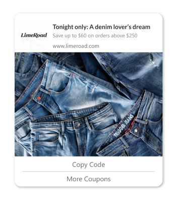 coupon affiliates daily discounts web push notifications