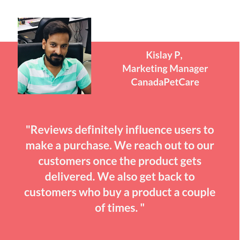 customer review quote