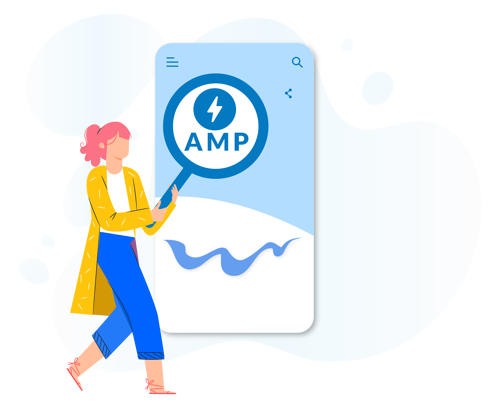 Accelerated Mobile Pages(AMP) to build notification audience