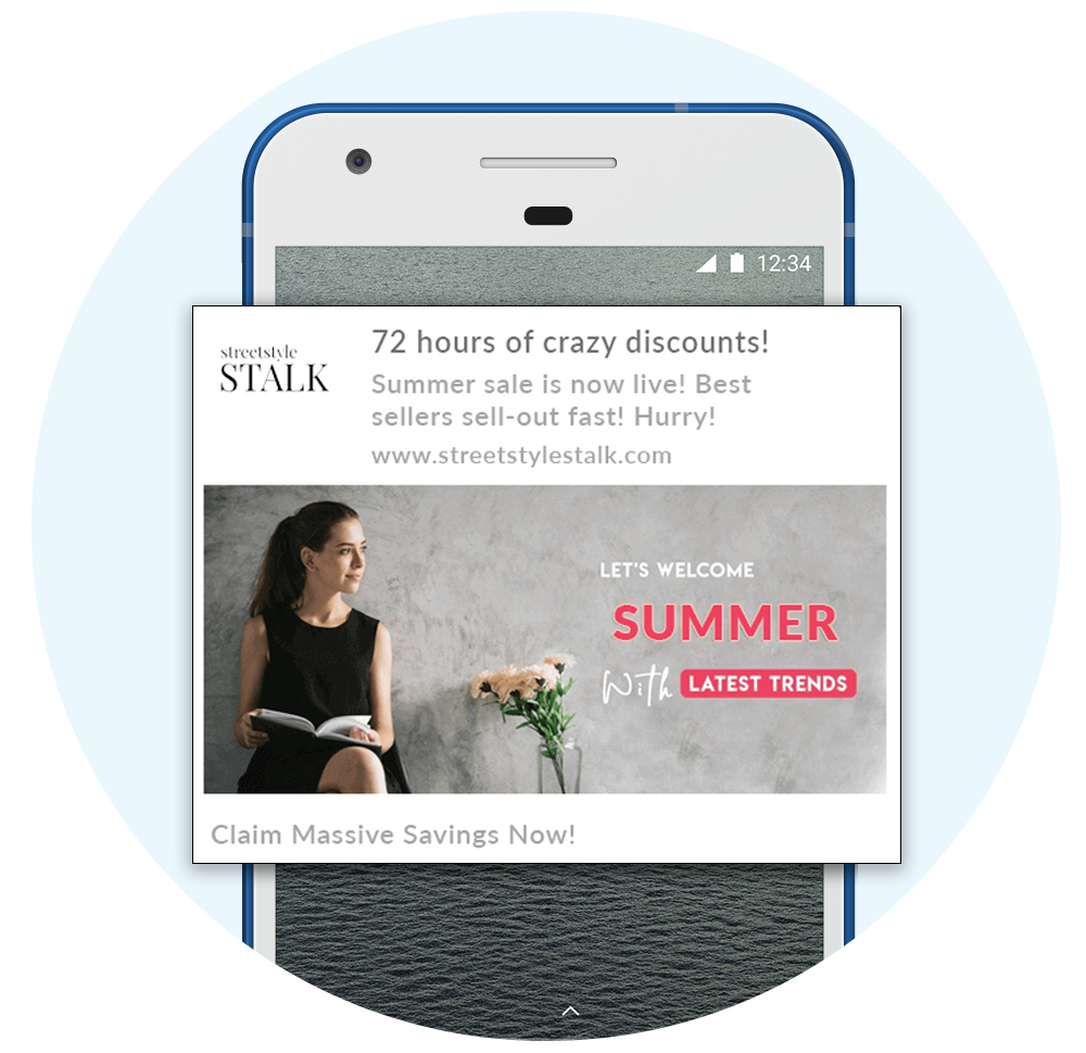 Deliver Discounts through Push Notifications