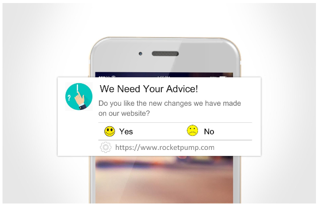 small businesses push notifications feedback