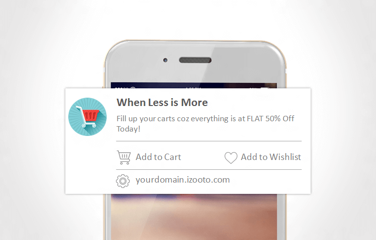 Lead with an amazing title to get people to take action on Mobile Web Push Notifications