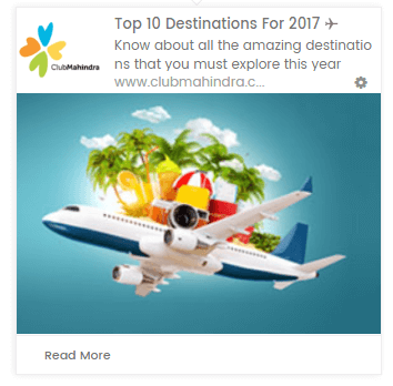 web push notification for travel industry