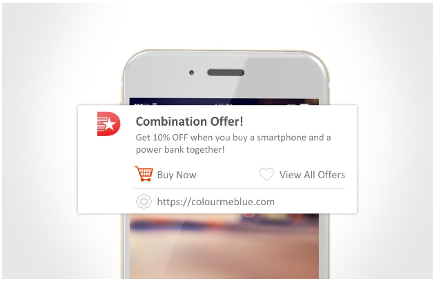 cross sell - push notifications for small businesses