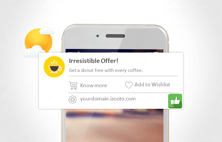 Send Notifications at the Right Time to get users to click on mobile web push notifications