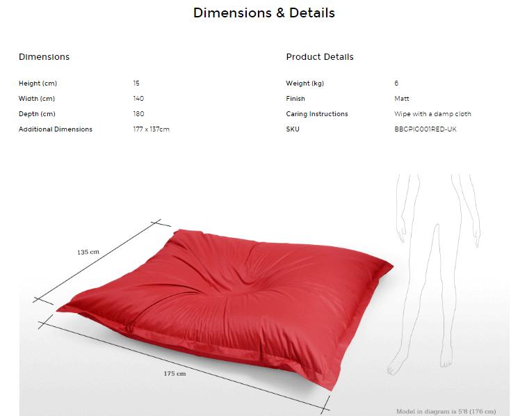 ecommerce product description