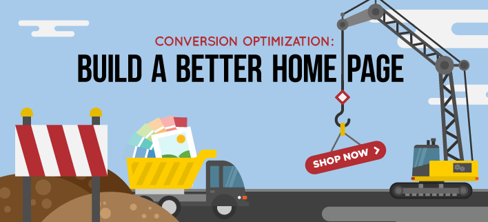 ecommerce conversion optimization - home page