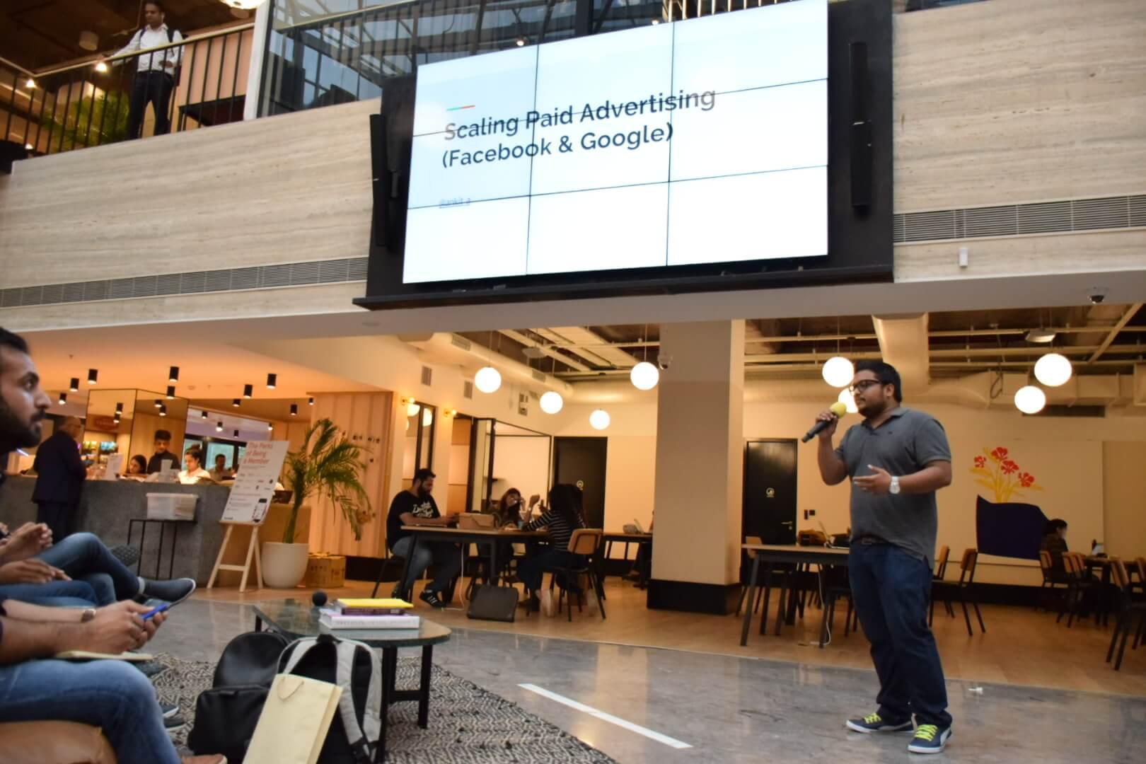 Ankit Agarwal Shopify Meetup