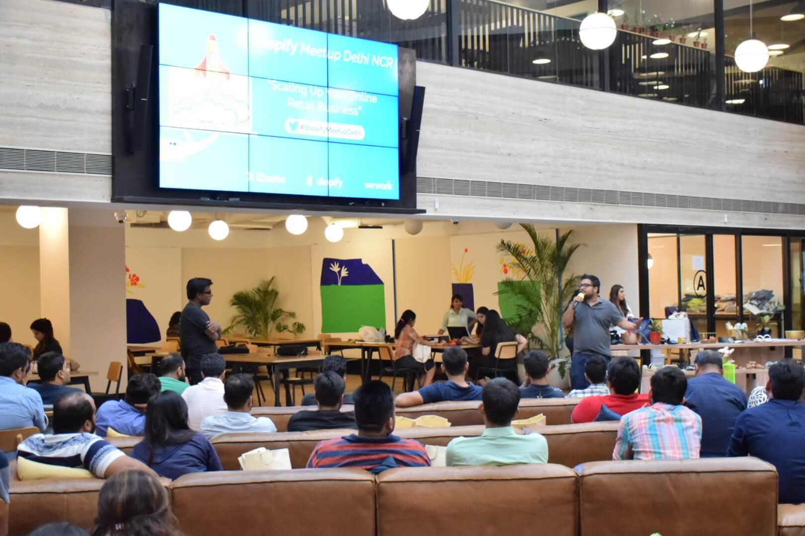 Shopify Meetup delhi