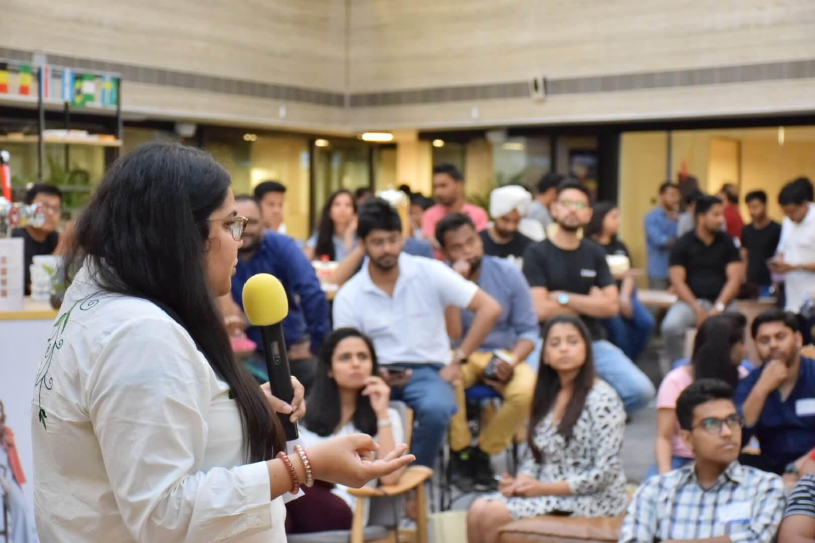Aashna Chopra Shopify Meetup