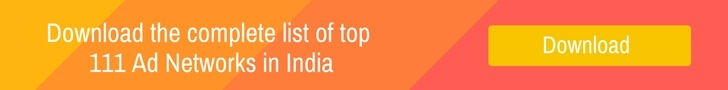 top Ad networks in India