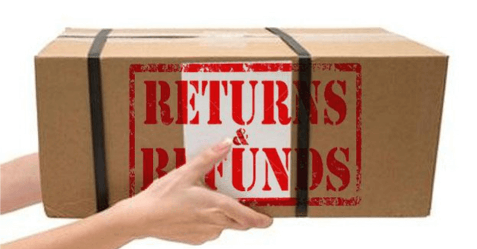 ecommerce conversion optimization - returns and refund