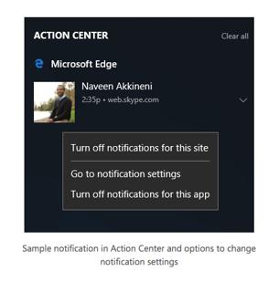 Notification Permission Management