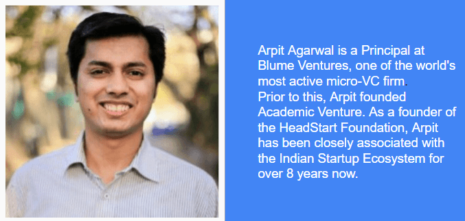Learn how to identify product market fit with Arpit Agarwal