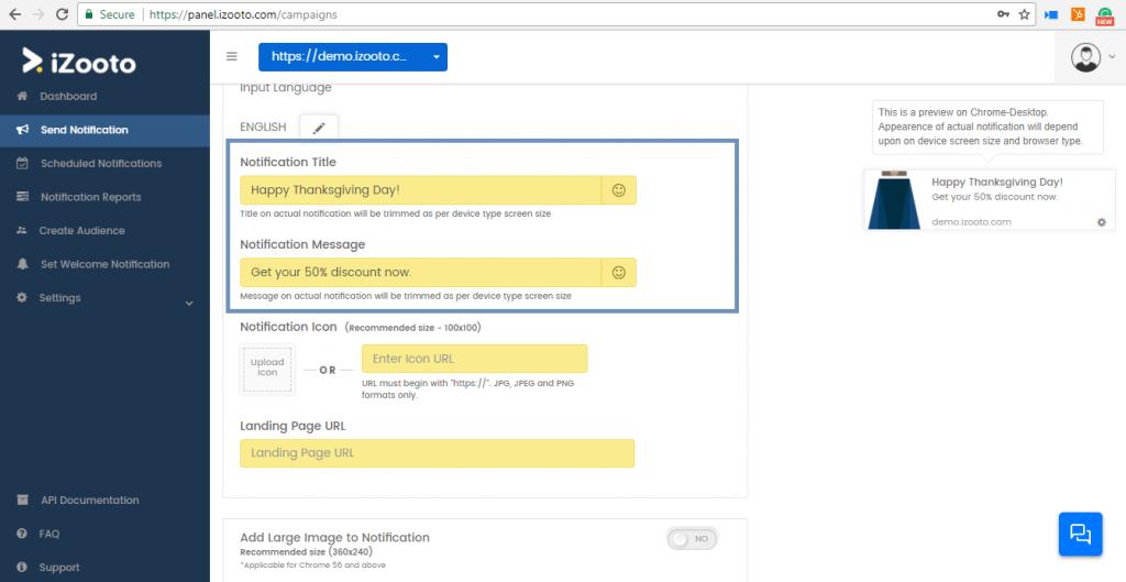 Web push notifications checklist