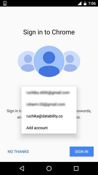 Chrome Notification Subscription