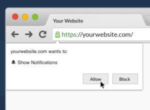 web push notification platform