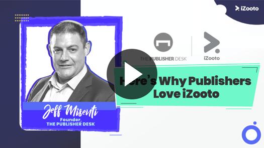 Jeff Misenti Publishers love iZooto
