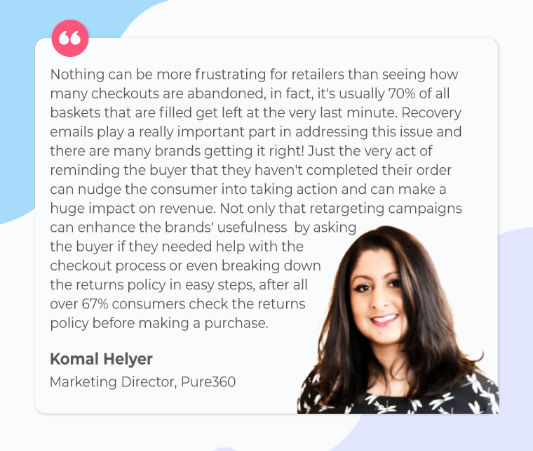 email retargeting-Komal-quote