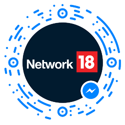 Example of a Messenger code being used by Network18