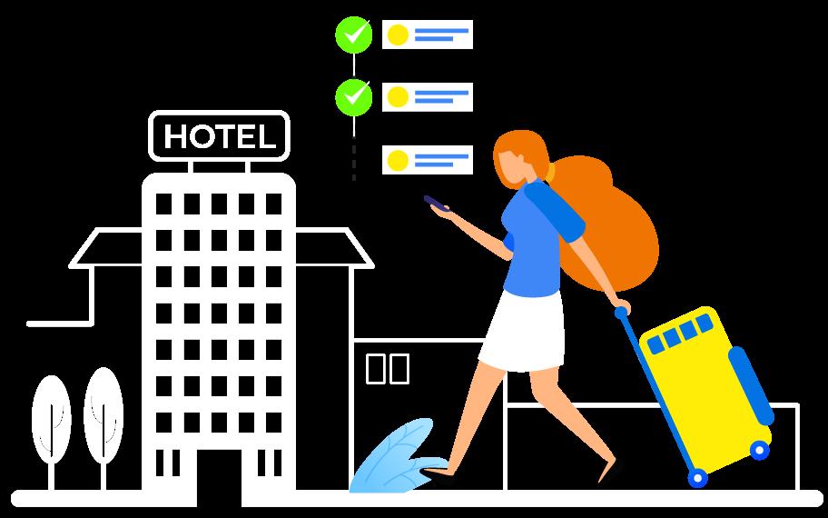 Playbook hotel bookings