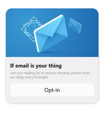 build email subscribers on messenger