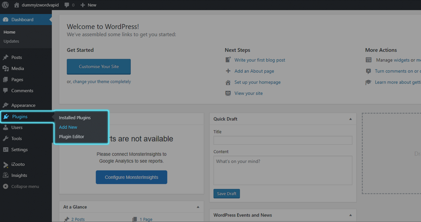 Add New Plugin in WordPress