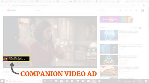 Companion Video Ad iZooto