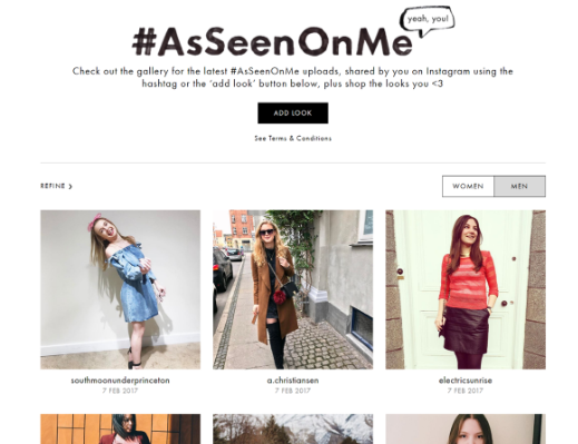 ASOS- as seen on me example