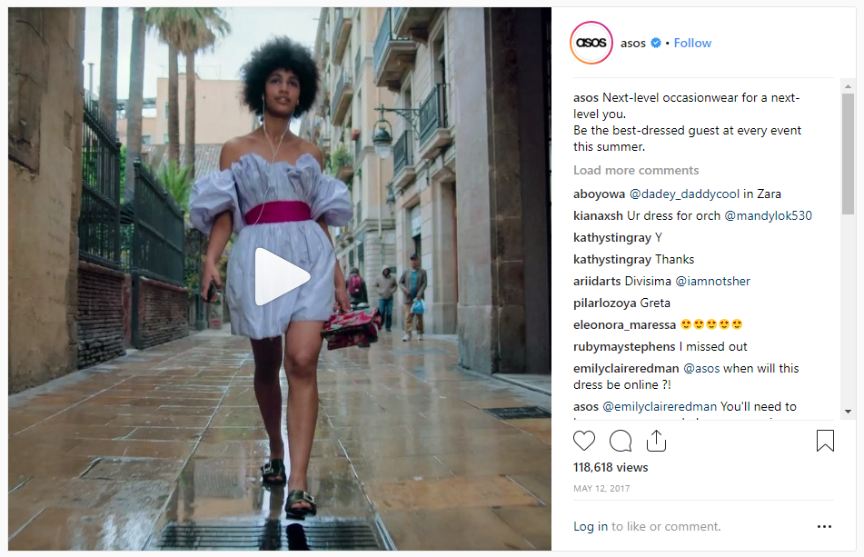 asos-the-next-level-you campaign-example