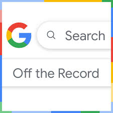 Search Off The Record Podcast logo
