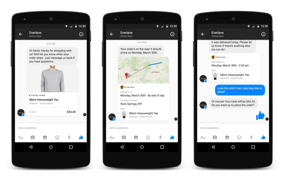 facebook messenger retargeting