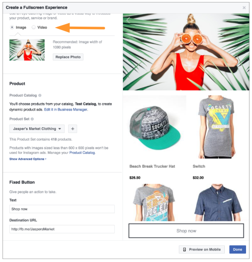 grid-layout-facebook ads