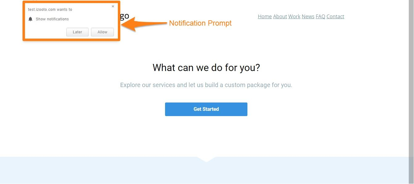 iZooto-prompt-Leadpages