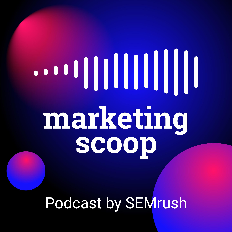 Marketing Scoop podcast logo