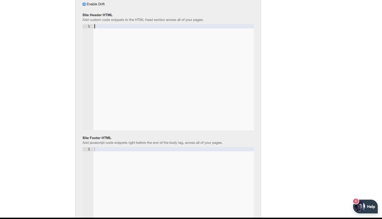 Header HTML Hubspot
