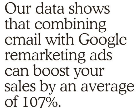 insight on email and ads