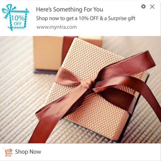 Notification Template to create Suspense and generate more sales from subscribers