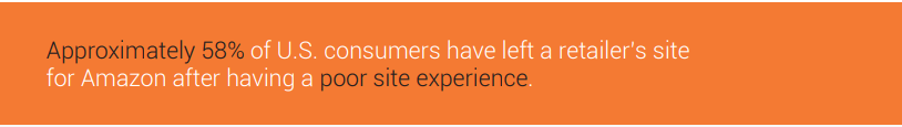 poor site experience stats