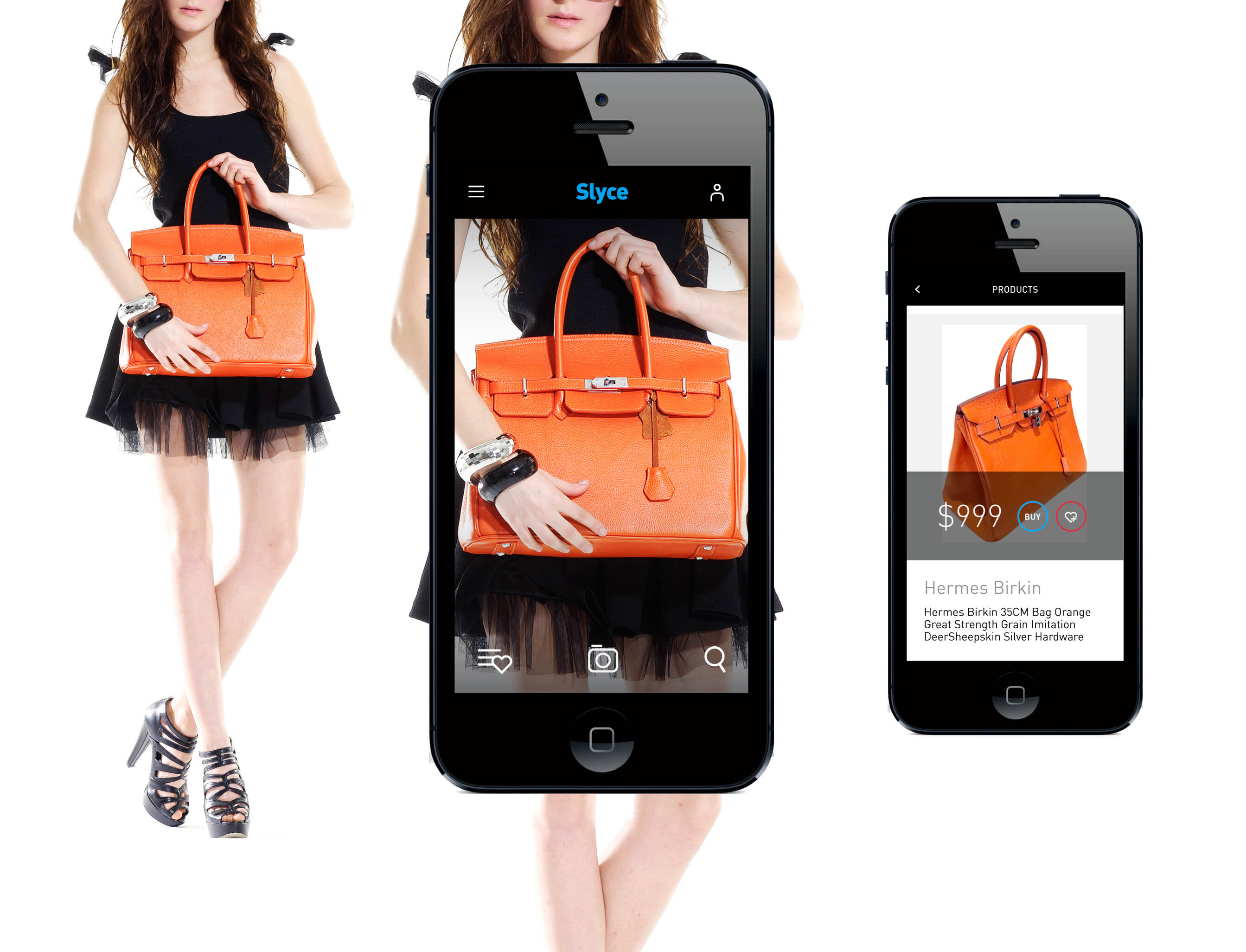 Visual search - intelligent placement of products